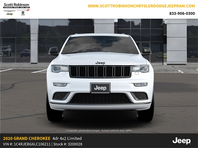 New 2020 JEEP Grand Cherokee Limited
